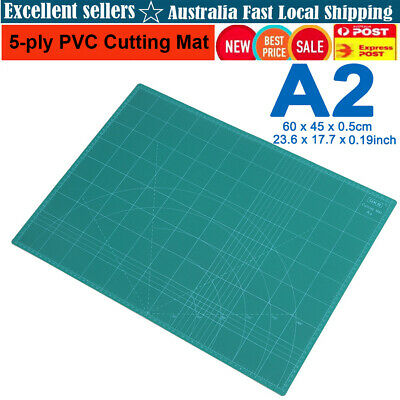 A2 Durable 5ply PVC Cutting Mat Cut Pad Board Self-Healing DIY Carving Tool