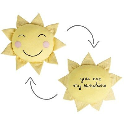 Sass & Belle You Are My Sunshine Cushion Nursery Baby Gift Bnwt Childrens Room