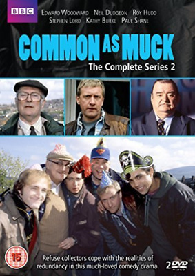 Neil Dudgeon, Kathy Burke-Common As Muck: The Complete Series 2  DVD NEW