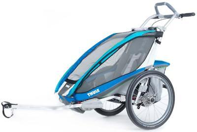 Thule Thule Chariot Cx1+cycle, Gris Male Max 34 Kg