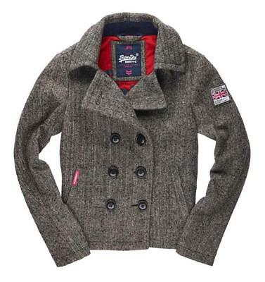 Superdry Rookie Peacoat, Gris Female XL