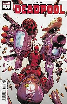 Deadpool Comic Issue 2 Marvel Modern Age First Print 2018 Young Klein