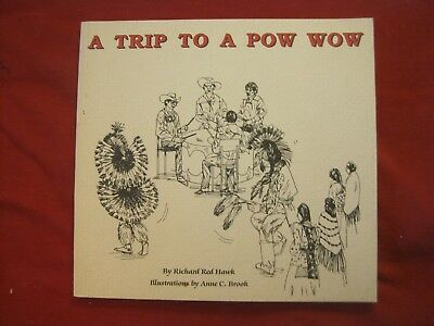 1988 Childrens Book A Trip To A Pow Wow By Richard Red Hawk