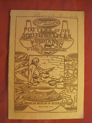 1931 Guide Leaflet Series #73 Pottery Of The Outhwestern Indians By P.e. Goddard