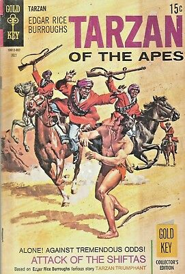 Tarzan Of The Apes #185  Leopard Girl  Gold Key  Silver-Age 1969  Nice!!!