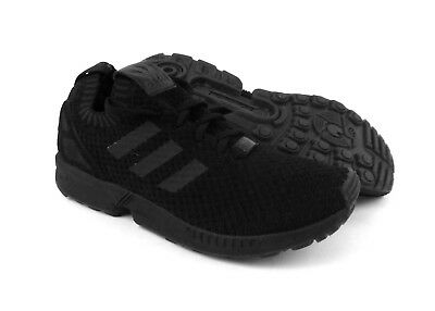 4b672a8120fd9 adidas men s ZX Flux PK running shoes sneakers trainers kicks size 8 Black  NIB!
