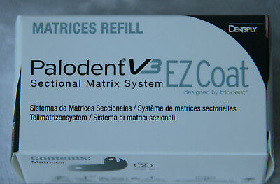 Palodent V3 EZ COAT Sectional Matrix System; 4,5 mm ; 50 pcs. Matrices Refill