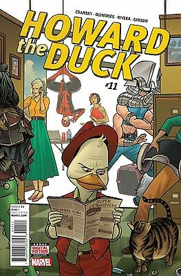 HOWARD THE DUCK #11, FINAL ISSUE, New, First Print, Marvel Comics (2016)