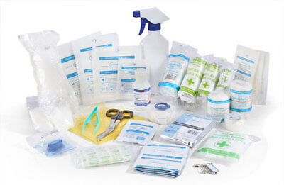 Click Medical First Aid Personal Sports Injury Refill Kit Wipes Spray Bandages