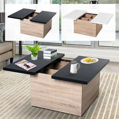 Coffee Table With Sliding Top Storage.Modern Storage Coffee Table With Sliding Top Mdf Chipboard Living Room