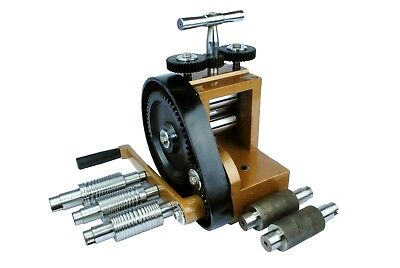Proops Jewellers Budget Mini Rolling Mill with 7 Rolls 76mm x 43mm. J1140