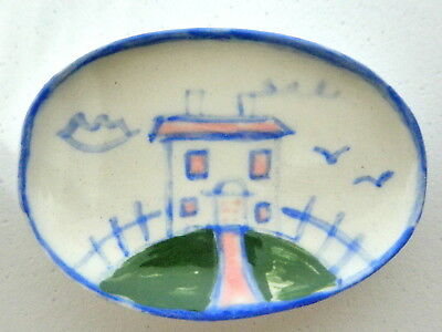 Dollhouse Miniature ceramic dish - Country style House