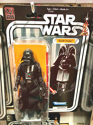 STAR WARS Hasbro 40th Anniversary DARTH VADER Action Figure New Stock