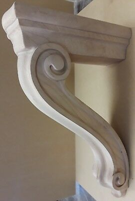 Enkeboll Designs wooden corbel CBL-TB2M Maple cabinets, furniture, woodworking