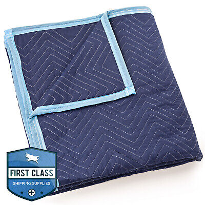 "Moving Blanket Furniture Pad - Deluxe Pro - 80"" x 72"" Royal Blue"