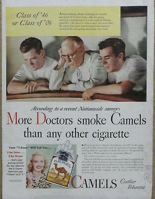 More Doctors Smoke Camels Ad...1946 Print Ad Doctors in Gallery