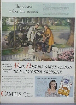 More Doctors Smoke Camels Ad...Model A Ford