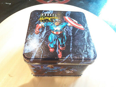 Box MARVEL MASTERPIECES Series I  - Trading Cards - Tirage limité #17573/35000