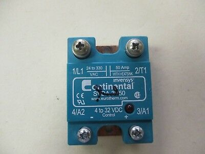Continental Industries Inc SVDA-3V50 Used 4 to 32 VDC Solid State Relay