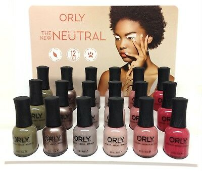 Orly Nail Lacquer - THE NEW NEUTRAL Collection - Pick Any Color .6oz/18ml