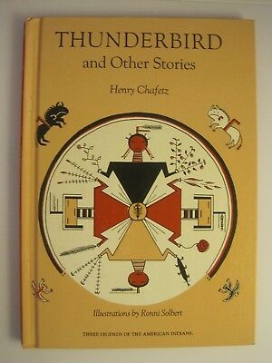 """1964 Childrens Book """"thunderbird And Other Stories"""" 3 Legends American Indians"""