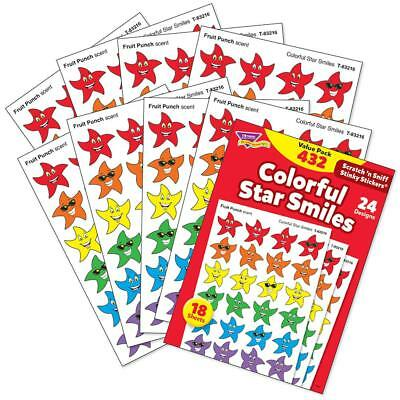 Scratch and Sniff STAR Stickers - TEACHERS CLASSROOM PACK