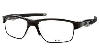 49a21c6315 OAKLEY CROSSLINK SWITCH Prescription Eyeglasses Satin Black 56 18 ...