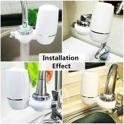 2 Mode Tap Faucet Nozzle Filter Water Filter Faucets Mount Water Purifier Kit