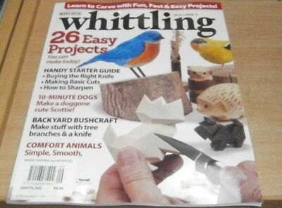 WoodCarving Illustrated magazine presents Whittling 2018: 26 Easy Projects &more