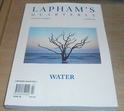 Lapham's Quarterly magazine Summer 2018 Volume XI Number 3 Water
