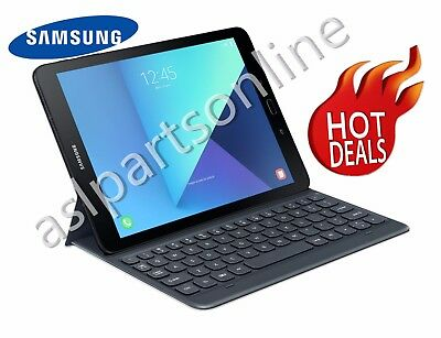 "NEW Genuine Samsung Galaxy Tab S3 9.7"" SM-T820 Keyboard Case cover - Gray"