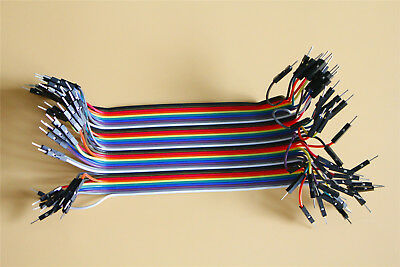 20CM 2.54mm Jumper Connector Male to Male A Row of 40 Roots Dupont Wire Cables