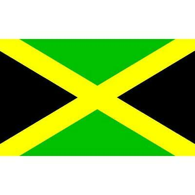 Jamaica Flag with Grommets 2ft x 3ft