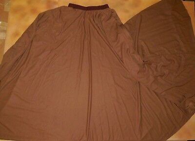 NWT Praise Liturgical Skirt Church Dance FULL Circle White child// Ladies Sizes