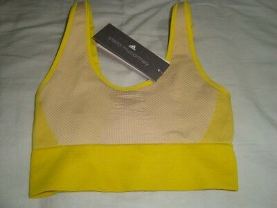 42db92e09ccea Adidas Stellasport Sports Bra Stella McCartney Padded Cropped Gym Top BNWT  XS