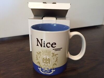 STARBUCKS NICE FRANCE GLOBAL ICON MUG 16oz - NEW WITH SKU