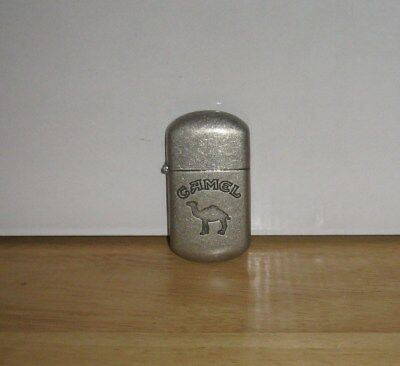 Classic Camel Lighter Brushed Chrome Made In China  (A)