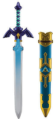 Boys Mens Nintendo Link Sword With Scabbard Halloween Costume Accessory