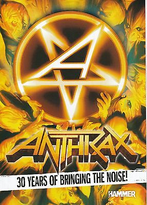 Anthrax - 30 Years of Bringing The Noise Metal Hammer 16Page Magazine Supplement