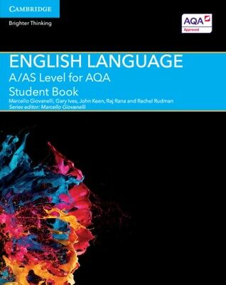 A/AS Level English Language for AQA Student Book (A Level (AS) En...