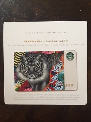"Starbucks Canada Version ""TRISTAN EASTON SPECIAL EDITION"" - Card - New No Value"