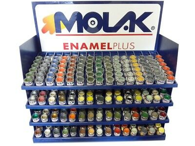 COLORI SMALTI MOLAK ENAMEL 18ml  GANDOLA MATT GLOSS SATIN METALLIC X MODELLISMO