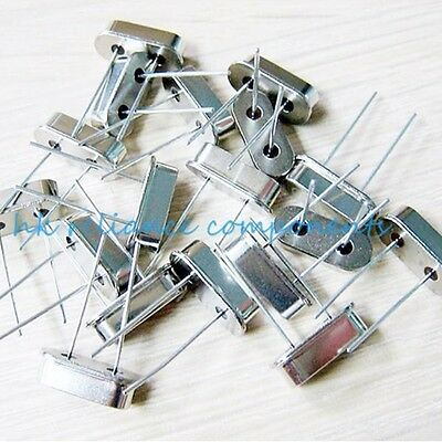 UK 10 pcs Quartz Crystal Resonators HC-49US 3.579545 ~ 40 MHz FULL RANGE VALUEs