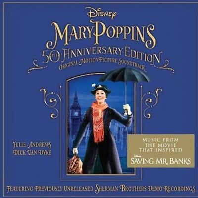 Various Artists - Mary Poppins 50th Anniversary Edition Soundtrack NEW CD