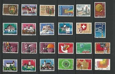 y5323 Switzerland /  A Small Collection Early & Modern Used