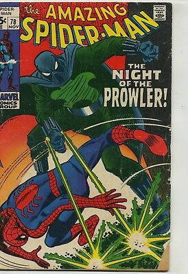Amazing Spider-Man 78 First Prowler