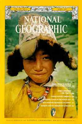 Free post Nat Geograpic APR 1977 NEPAL PILGRIMAGE CANADA JAPAN KITES  NORTH SEA