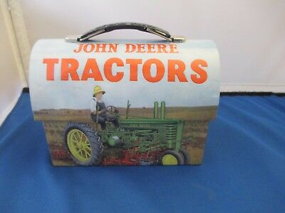 John Deere Tractors Tin Licensed Tractor Tin Lunch Box