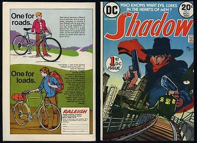 The Shadow #1 Bronze Age DC Comic Book 1973 NM