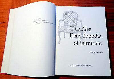 'The New Encyclopedia of Furniture' Completely Revised, Aronson 1965 OP 3rd Ed